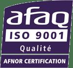 afaq iso 9001 qualité afnor certification